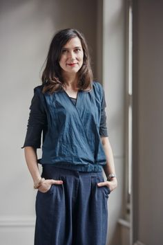 """As one of the founders of the """"slow fashion"""" movement, Kate Fletcher dares to push an ecological agenda amidst the normatively fast, fickle world of fashion. An agitator for change, Kate adv Ethical Clothing, Ethical Fashion, Slow Fashion, Fashion News, World Of Fashion, Sustainable Fashion, Interview, Rompers, Elegant"""