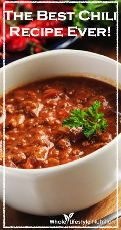 The Best Chili Recipe Ever | GrowingRealFood.com #chili #slowcooker #crockpot