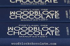 Woodblock Chocolate - The Dieline -