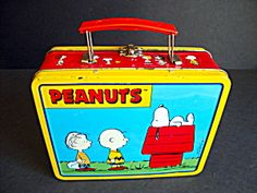 Peanuts Lunch Box, Metal