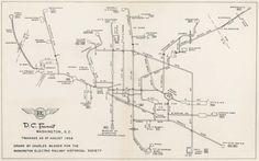 Washington DC Trackage 1958
