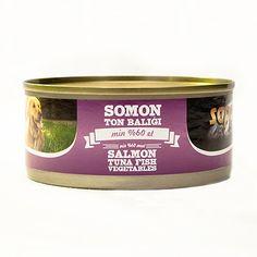 Sapphere Somon Ve Ton Balıklı Köpek Konservesi 165 Gr