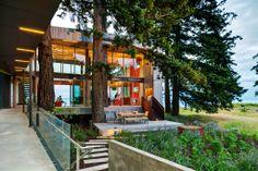 Home on Vancouver Island. Photo: Brad Laughton