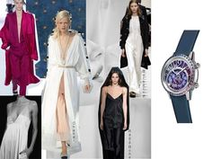 (English) Discover the SIHH 2017 women's watch novelties, amongst them, the Audemars Piguet Royal Oak Frosted, the Cartier Panthere, the Girard-Perregaux Laureato Girard Perregaux, Audemars Piguet Royal Oak, Duster Coat, Celestial, Watch, Jackets, Women, Fashion, Down Jackets
