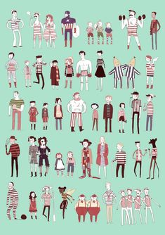 illustration people - Google 검색