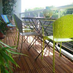 Le plancher pour mon balcon!