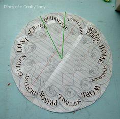 Harry Potter Clock Idea