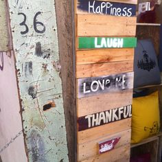 Love and peace and pallets ! Old town creativity in Nicosia