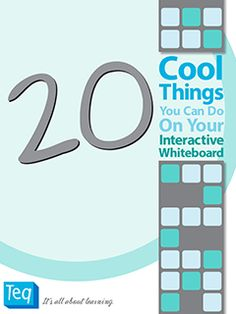 20 Cool Things You Can Do On your Interactive Whiteboard - a free ebook to download! @Theresa Quennoz