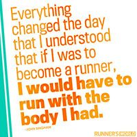 To Become A Runner