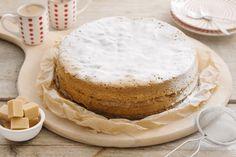 Speculoos in combinatie met cake is onweerstaanbaar lekker. Een boerencake toveren we om tot een heerlijke speculoos-karameltaart.