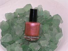 "Glow, ""Serenity"" nail polish.  http://glowcosmeticsinc.com/page13.php"