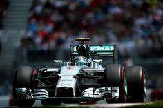 Nico Rosberg (GER) Mercedes AMG F1 W05. Formula One World Championship, Rd7, Canadian Grand Prix, Qualifying, Montreal, Canada, Saturday, 7 June 2014