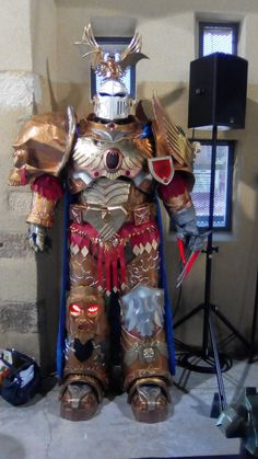 God Emperor of mankind cosplay - statue mode by Temple-d-Anubis