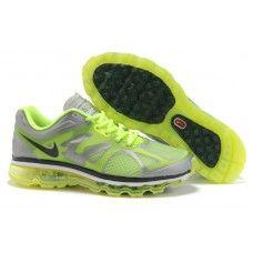 Hommes Nike Air Max 2012 Silver/Gris/Noir