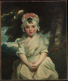 Georgiana Augusta Frederica Elliott (1782–1813), Later Lady Charles Bentinck  Sir Joshua Reynolds and Workshop (British, Plympton 1723–1792 London)  Date: 1784