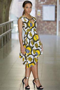 Shop Kuwala.co for the Ankara Rebekah Dress by Gitas Portal