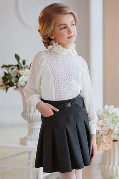 Школьная блузка для девочки арт. 618