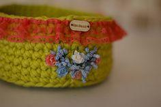 Crochet basket by HandmadeByYouStore on Etsy