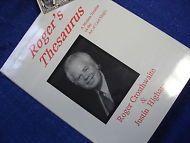ROGER'S THESAURUS A MODERN TREATISE ON THE ART OF CARD MAGIC CARDWORK PRO TRICKS