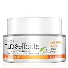 nutraeffects Radiance Night Cream SHOP NOW I AVON SKINCARE PRODUCTS ONLINE AT https://CBRENDA007.AVONREPRESENTATIVE.COM/SHOP