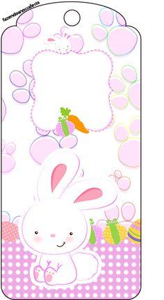 Uau! Veja o que temos para Tag Agradecimento Páscoa Coelhinho Cute Rosa