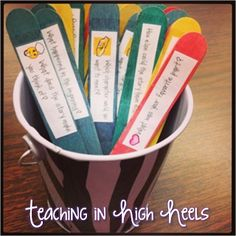 Guided Reading Tools. Good idea for competent readers.