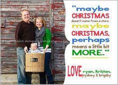 Adorable Family Christmas Card