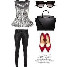 Office Ladies, Lady, Polyvore, Image, Fashion, Moda, Fashion Styles, Fashion Illustrations