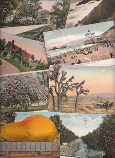 Old Postcards from California