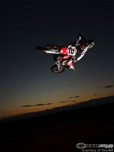 Step 1: get this pic. 2: get it signed and framed. 3: give as wedding gift and become best wife ever. Jeremy McGrath #2