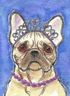 Queen of Hearts Frenchie