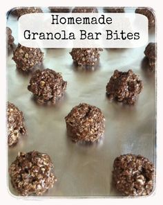 """2  1/2 Cups Oats  1/2 Cup Coconut Oil  1 Cup Peanut Butter (I used Adams 100% Natural)   1 Cup Ground Flaxseed  1/4 Cup Cocoa Powder  3/4 Cup Agave  2 teaspoons Vanilla  1 teaspoon cinnamon (optional)  Mix All Ingredients together, roll into balls, and place onto wax parchment paper. Pop into the freezer and pull one out when your cravings get out of control. If you are not """"off sugar"""" like I am, you can also add a cup of chocolate chips to this recipe…"""