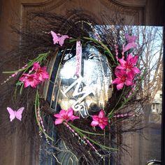 My front door wreath.