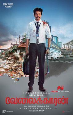 Velaikaran first look poster