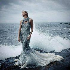 Charlize Theron by Annie Leibovitz  2011 #vogue #voguemagazine...