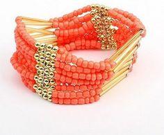 Bohemian Style Ethnic Beads Bracelet