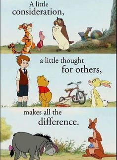This Sunday is Winnie the Pooh Day in honor of the English author and creator, A. Milne's birthday - Do you have a favorite Winnie the Pooh quote? Winnie The Pooh Quotes, Winnie The Pooh Friends, Eeyore Quotes, Walt Disney, Disney Love, Disney Magic, Disney Stuff, Pooh Bear, Disney Quotes