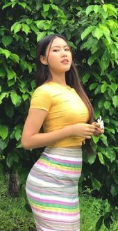 Source by mfungroup Cute Asian Girls, Burmese Girls, Myanmar Women, Asian Model Girl, Beautiful Asian Women, Asian Woman, Girl Photos, Asian Beauty, Feminine Fashion