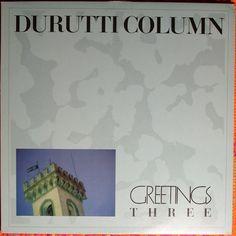 Durutti Column - Greetings Three 12-inch Lps, Cover, Manchester, Music, Albums, British, Scene, Musica, Musik