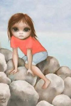 (searching for title) - Margaret Keane, 1967