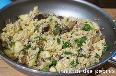 Depois da estreia da quinoa, foi a vez de experimentar o millet. Para quem não conhece, omillet é altamente nutritivo, suave, contém muita fibra e também de fácil digestão, é um dos alimentos conh…