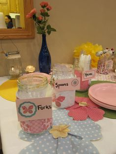 and MORE baby shower decor
