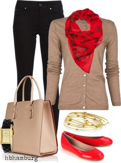 """No. 183 - Friday outfit"" by hbhamburg on Polyvore"