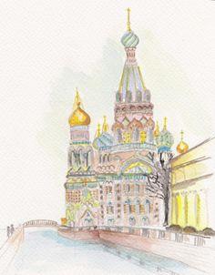 21/03/2015 - Valentine Delarchand Eglise Saint-Sang sur la Néva, St Pétersbourg