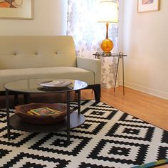 Ikea Rug Bungalow Home Staging Redesign Rugs In Living Room