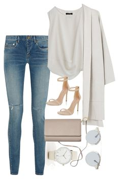 """Untitled #3951"" by olivia-mr ❤ liked on Polyvore featuring Yves Saint Laurent, Eileen Fisher, New Look, Forever 21 and ASOS"