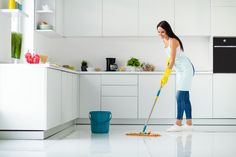 Full Size Photo, Rubber Gloves, Household Chores, Housekeeping, Home Kitchens, Cheer, Indoor, Flooring, Yellow
