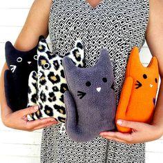 Litter of Four Kittens KITTY GRAM Family Plush Cat Fundraiser 100% Profits to…