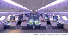 Airbus A380 Premium Cabin | Flickr - Photo Sharing!